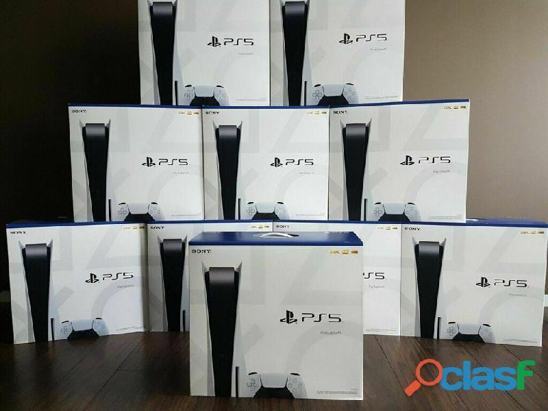 Console PlayStation 5 Standard 825Go / Blue ray / Digital