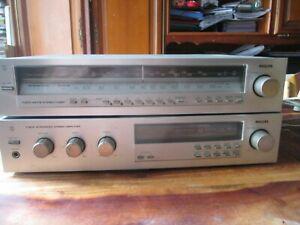 philips f 4213 amplifier + f 2213 tuner