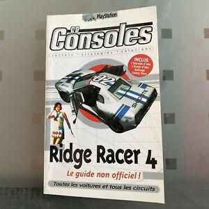 ancien guide jeu ridge racer 4 playstation cd consoles 1999