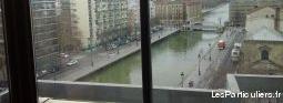 chambre dans grand appartement avec vue sur canal