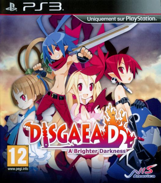 disgaea d2: a brighter darkness - ps3 - jeu occasion pas