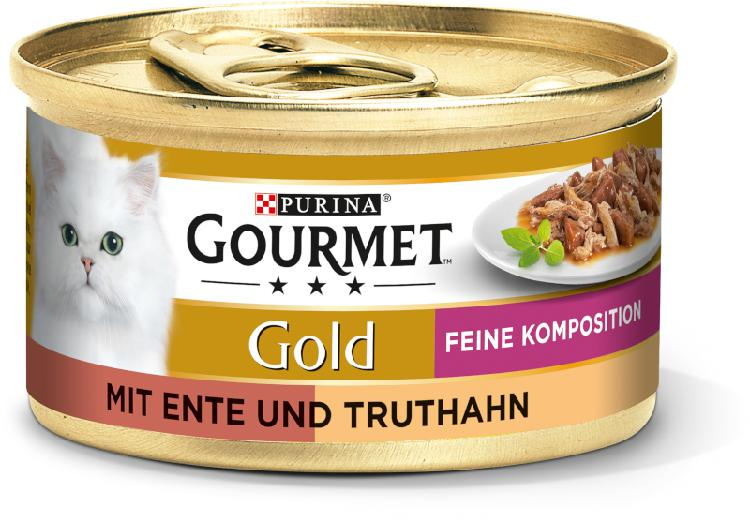 Gourmet gold fine composition 12x85 g canard et dinde