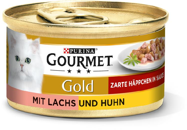 Gourmet gold morceaux délicats 12x85g saumon et