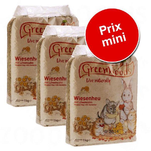 Greenwoods foin de prairie pour rongeur et lapin 3kg