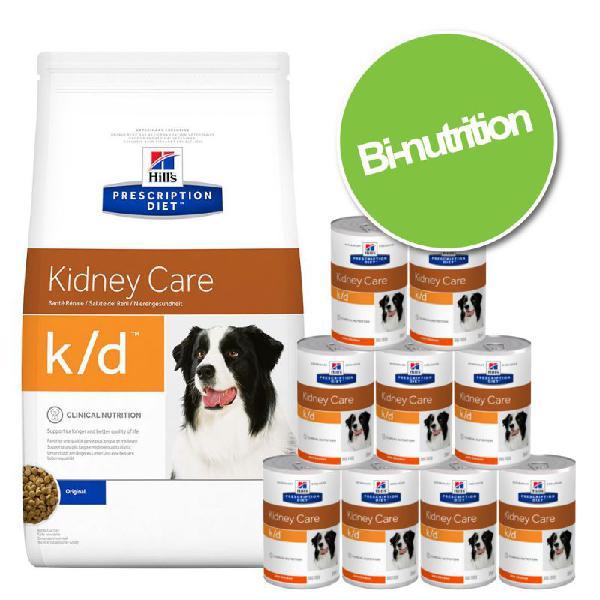Pack bi-nutrition: croquettes + boîtes hill's prescription