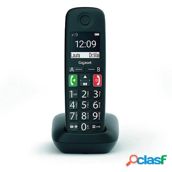 Téléphone sans fil dect gigaset e290 noir