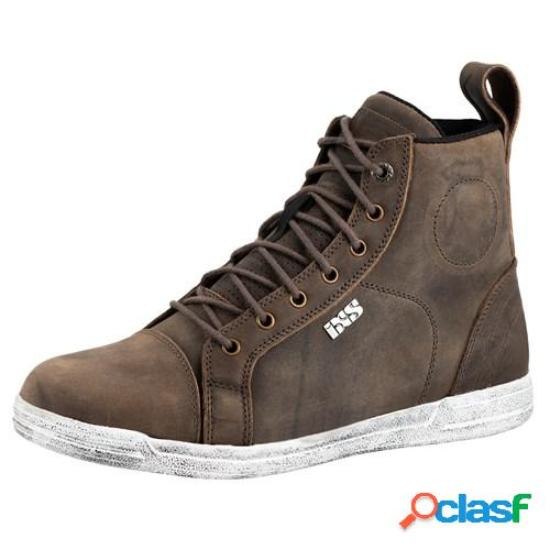 Ixs classic sneaker vintage 2.0, chaussures moto, brun