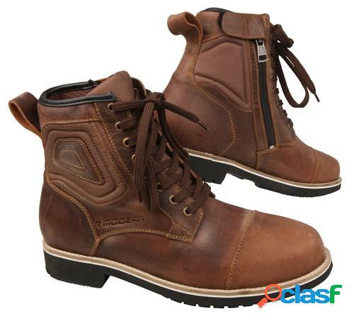 Modeka wolter, chaussures moto, brun âgé