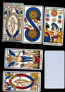 Jeu de 78 carte ancien tarot de marseille cartomancie