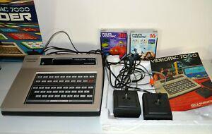 Jeux vidéo électronique ordinateur videopac 7000 schneider