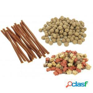 Cadilo cat snacks mélange pour chat: 1x starz, 1x yumballs, 1x yumsticks par unité