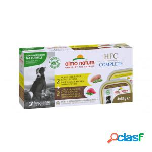 Almo Nature HFC Complete multipack au boeuf et au poulet pour chien Par 3 paquets (12 x 85 gram)