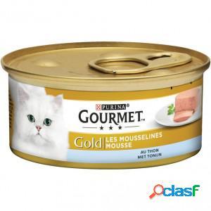 Gourmet gold chat mousse de thon 1 x 24 boites (85g)