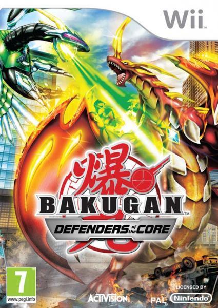 Bakugan: les protecteurs de la terre - wii - jeu occasion