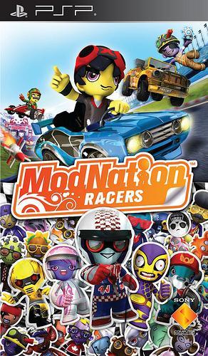 Modnation racers - psp - jeu occasion pas cher - gamecash