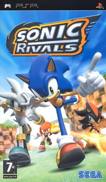 Sonic rivals - psp - jeu occasion pas cher - gamecash