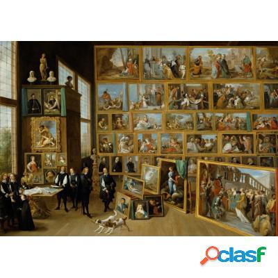 David Teniers: Le Gouverneur Léopold-Guillaume et sa collection de tableaux à Bruxelles