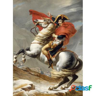 Jacques-Louis David: Bonaparte franchissant le Grand Saint-Bernard, 20 mai 1800