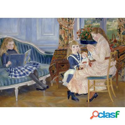 Pièces Magnétiques - Auguste Renoir: L'après-midi des enfants à Wargemont, 1884